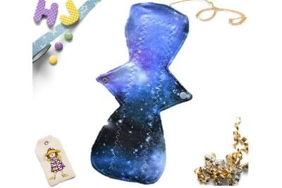 Click to order  Single Cloth Pad Cosmic Dreams now